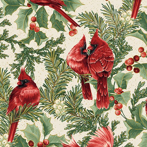 A Festive Season - Birds in Bough - from Benartes
