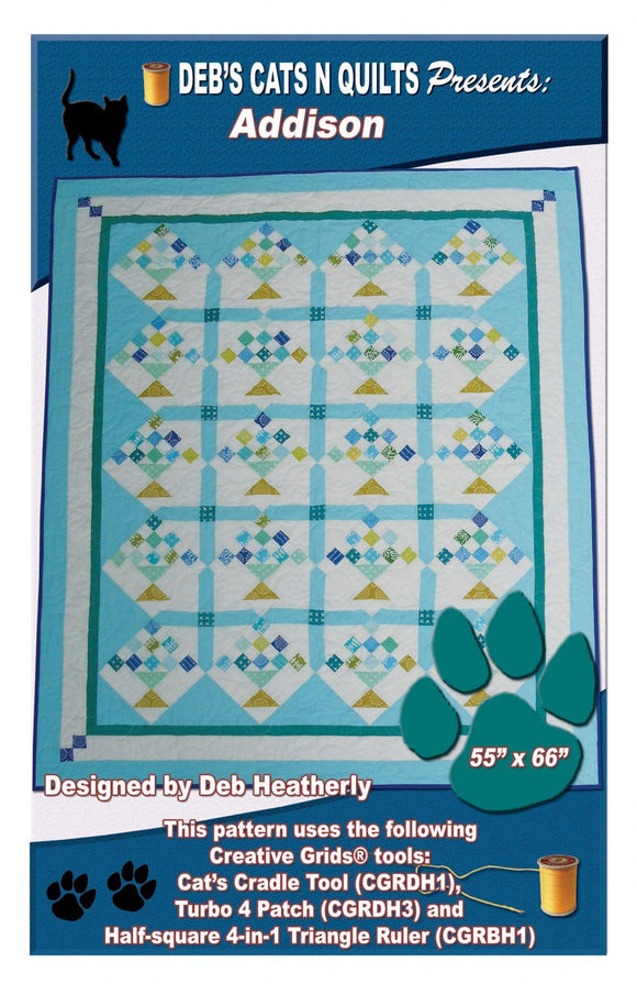 Addison - Deb Heatherly - Deb's Cats N Quilts