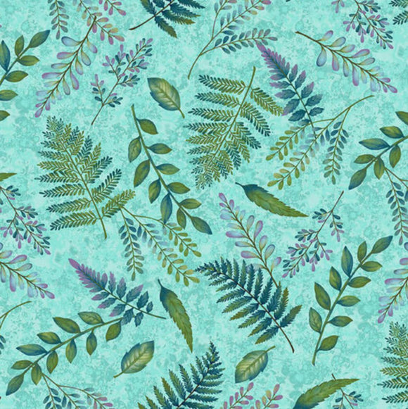Studio e - Feather & Flora - Fern in Light Spruce Green