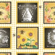 Bee Sweet Block Repeat from Studio e Fabrics
