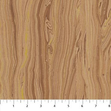 Northcott Artisan Spirit Sandscapes -Woodgrain in Caramel