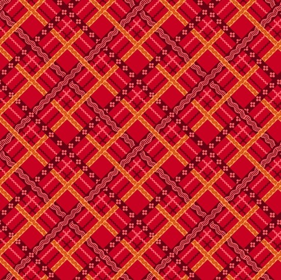 Pieceful Gathering - Red Plaid - from Studio e