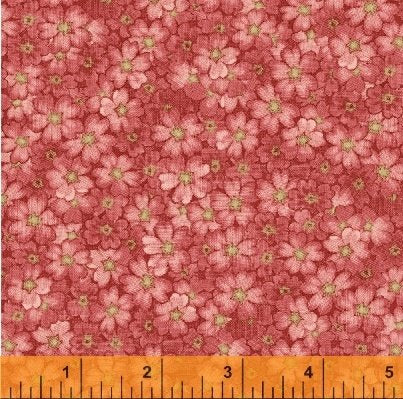 Secrets & Shadows All Over Floral in Pink from Windham Fabric