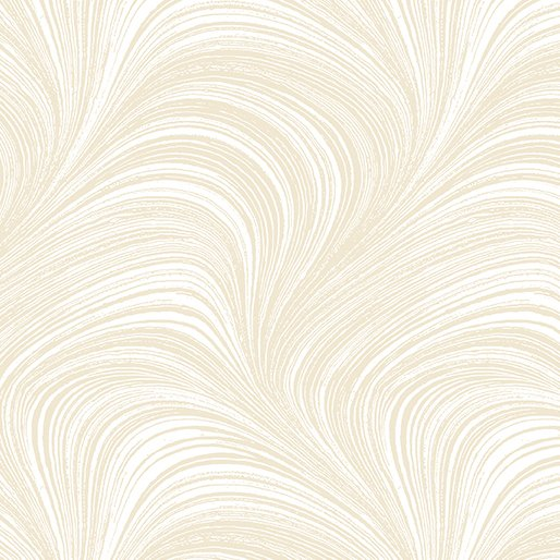 Wave Texture in Cream - from Benartex