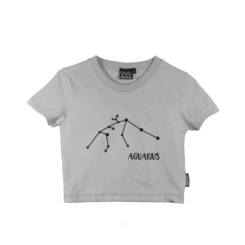 AQUARIUS CROP TEE