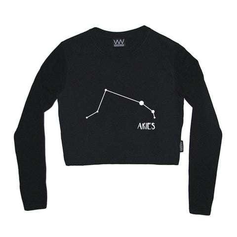 ARIES CROP LONG SLEEVE