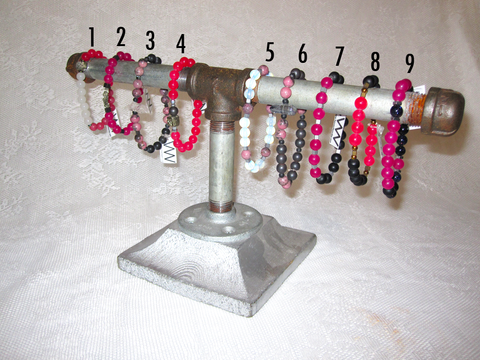 PINK-BASED GEMSTONE BRACELETS