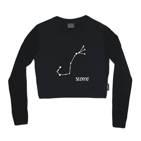 SCORPIO CROP LONG SLEEVE
