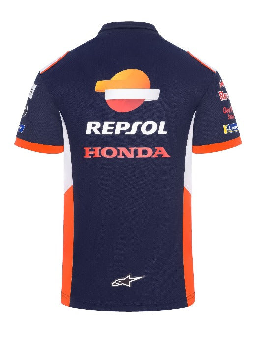 REPSOL REPLICA TEAMWEAR MEN'S POLO SHIRT