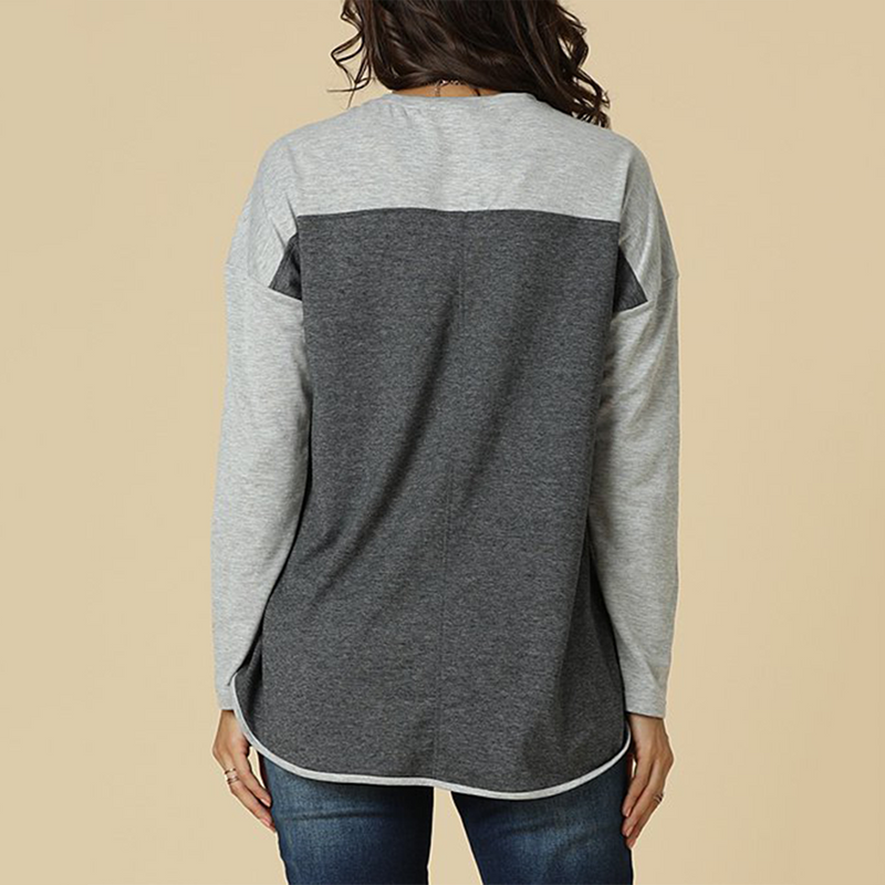 ARANLA Color Block Sweatshirts