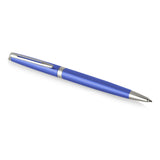 Waterman Hemisphere Bright Blue Palladium Trim Ballpoint Pen