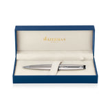 Waterman Expert Stainless Steel Palladium Trim Ballpoint Pen