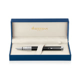 Waterman Perspective Black Palladium Trim Ballpoint Pen
