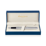 Waterman Hemisphere Stainless Steel Palladium Trim Rollerball Pen