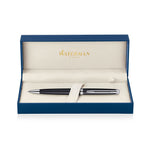 Waterman Hemisphere Matte Black Palladium Trim Ballpoint Pen