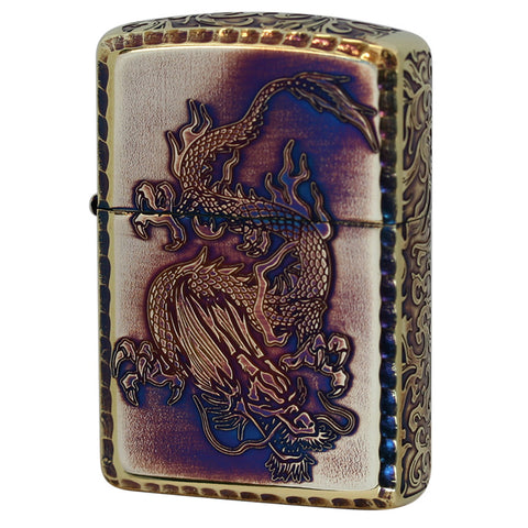 Zippo Custom Arabesque Dragon Lighter