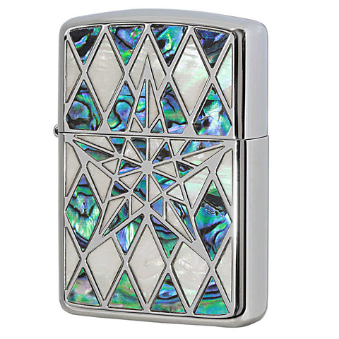 Zippo Custom Armor Shell Star Lighter