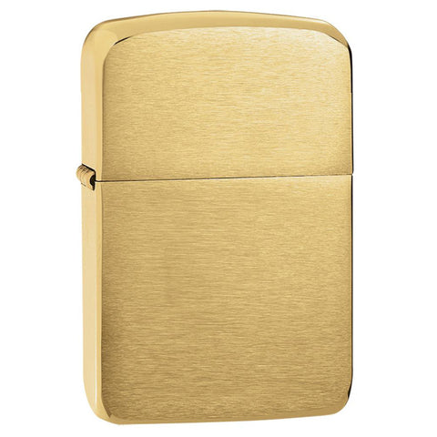 Zippo Brushed Brass 1941 Replica Lighter