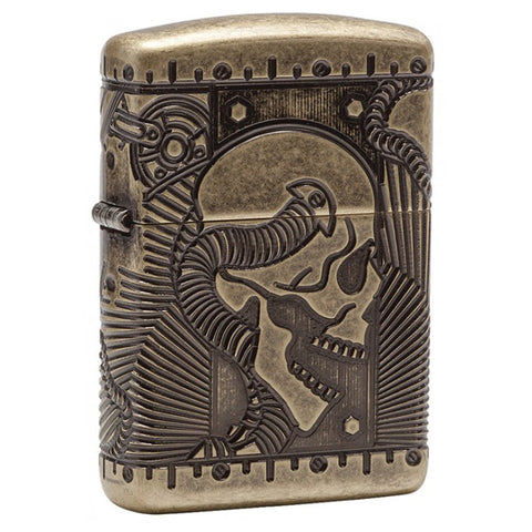 Zippo Luxury Antique Brass Steampunk Lighter