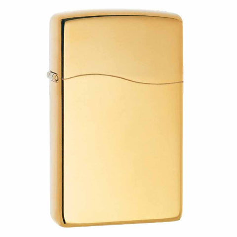 Zippo Blu2 Butane High Polish Brass Lighter