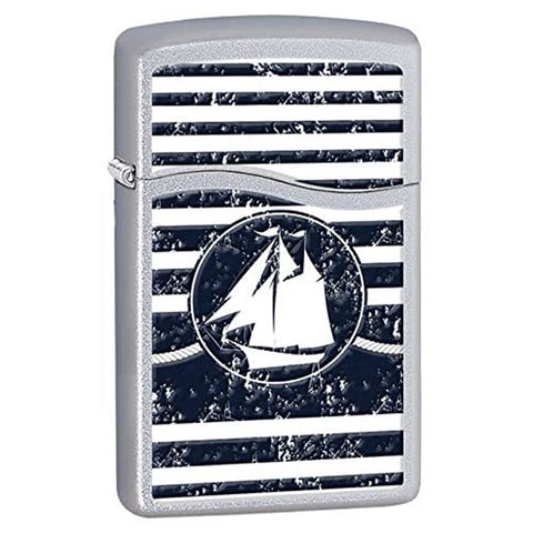 Zippo Blu2 Welcome Aboard Lighter