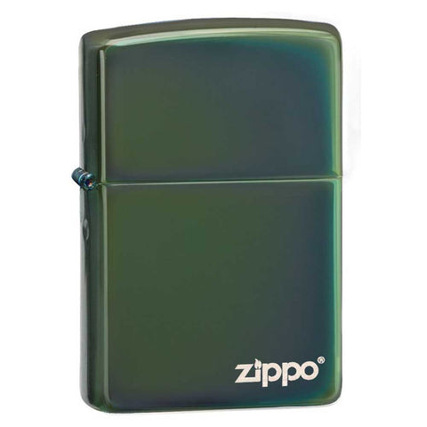 Zippo Chameleon Lighter with Logo