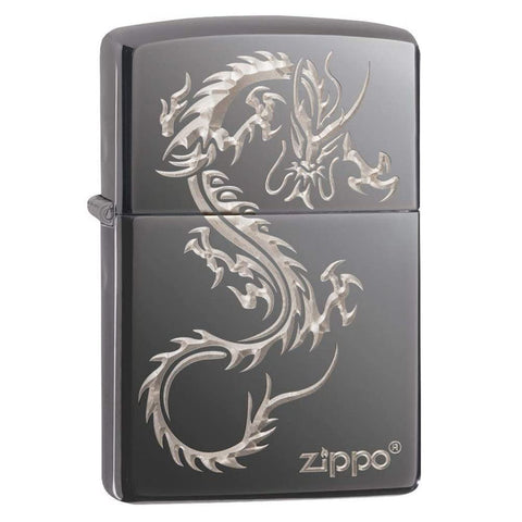 Zippo Black Ice Dragon Lighter