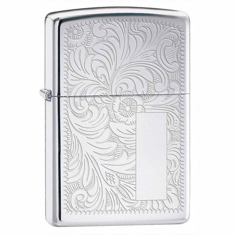 Zippo High Polish Chrome Venetian