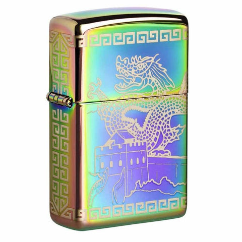 Zippo Great Wall of China Spectrum Lighter