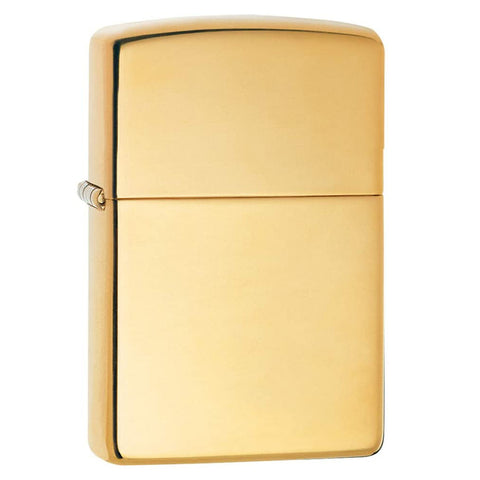 Zippo Armor High Polish Brass Lighter