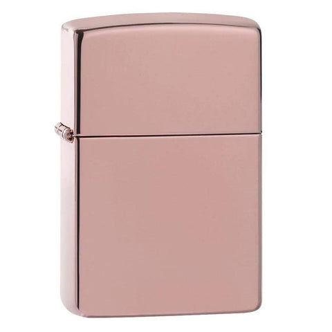 Zippo High Polish Rose Gold Lighter