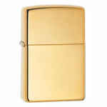 Zippo High Polished Brass Lighter