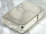 Zippo Sterling Silver High Polish 1941 Replica