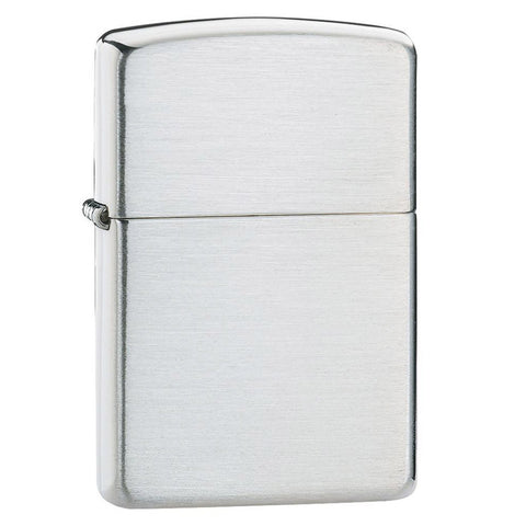 Zippo Sterling Silver Armor™ Brushed Lighter