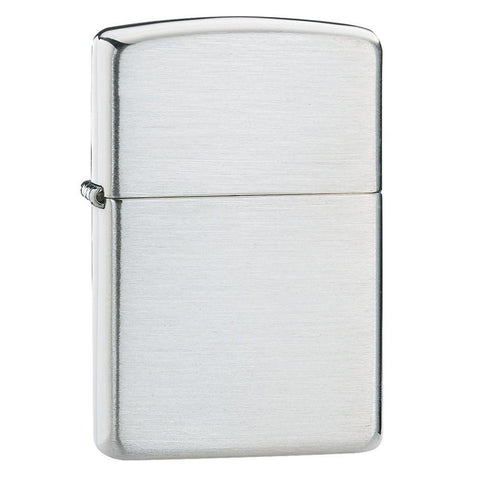 Zippo Sterling Silver Brushed Lighter