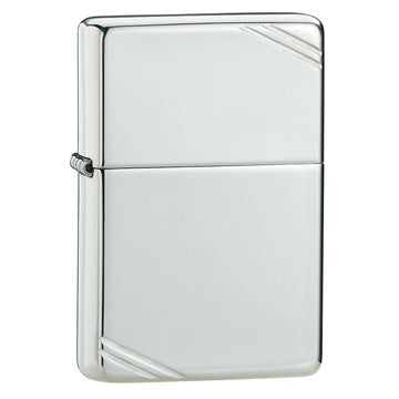 Zippo Sterling Silver High Polish 1937 Replica