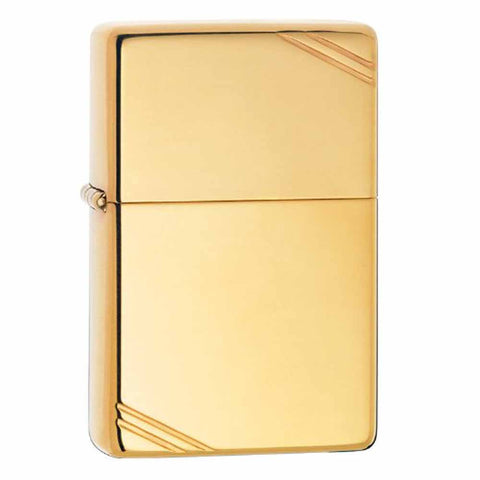 Zippo 1937 Replica High Polish Brass Lighter
