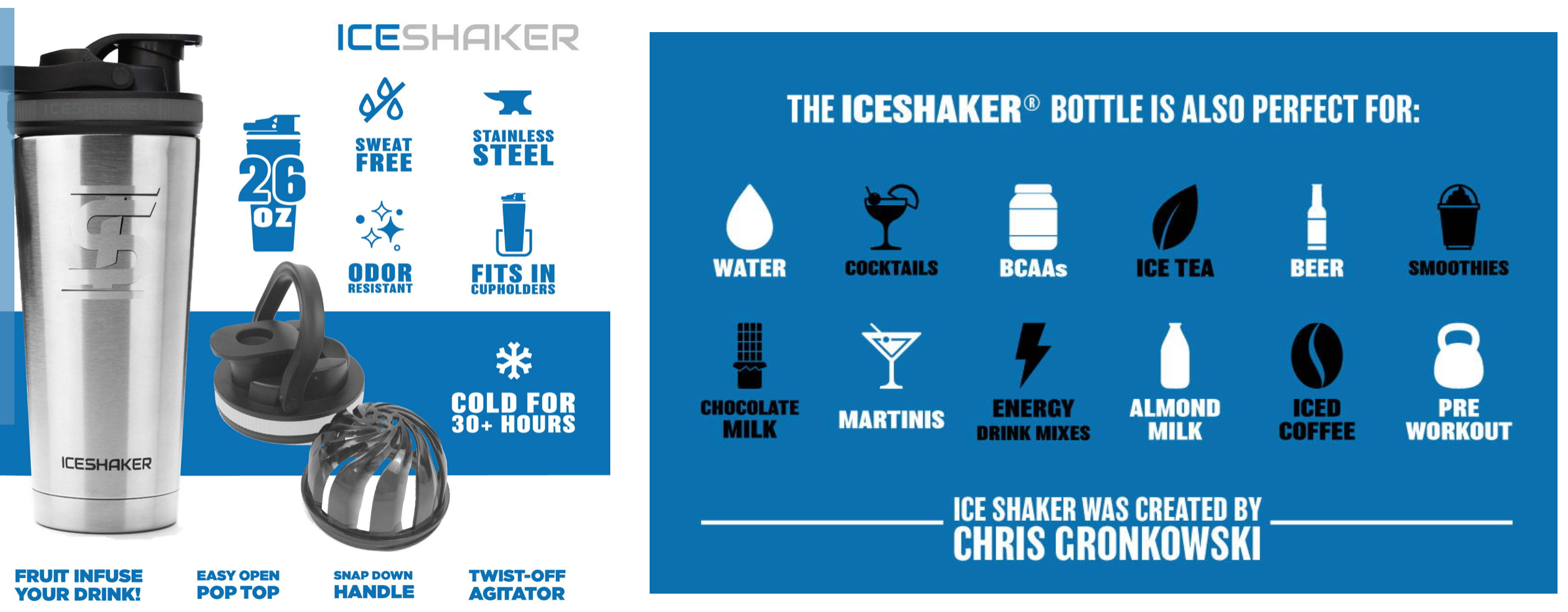 110% Ice Shaker - Red