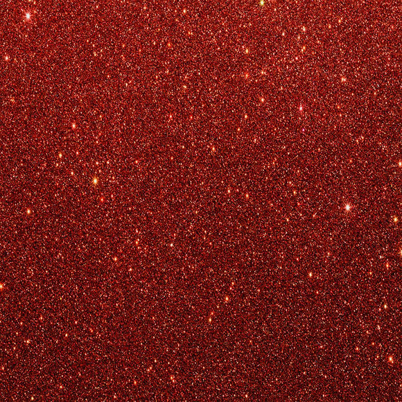 001 Red Lumina Series 9105 Glitter Heat Transfer Film - color swatch