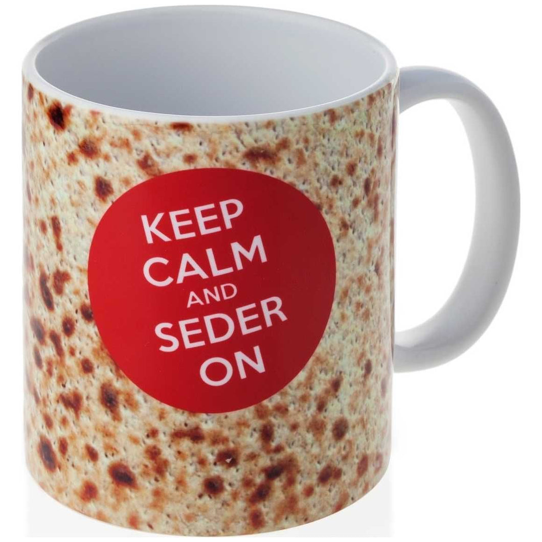 Keep Calm and Seder On Mug