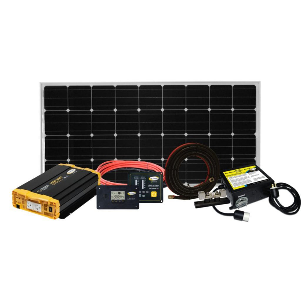 Go Power Complete Solar and Inverter System with 190 Watts of Solar WEEKENDER ISW
