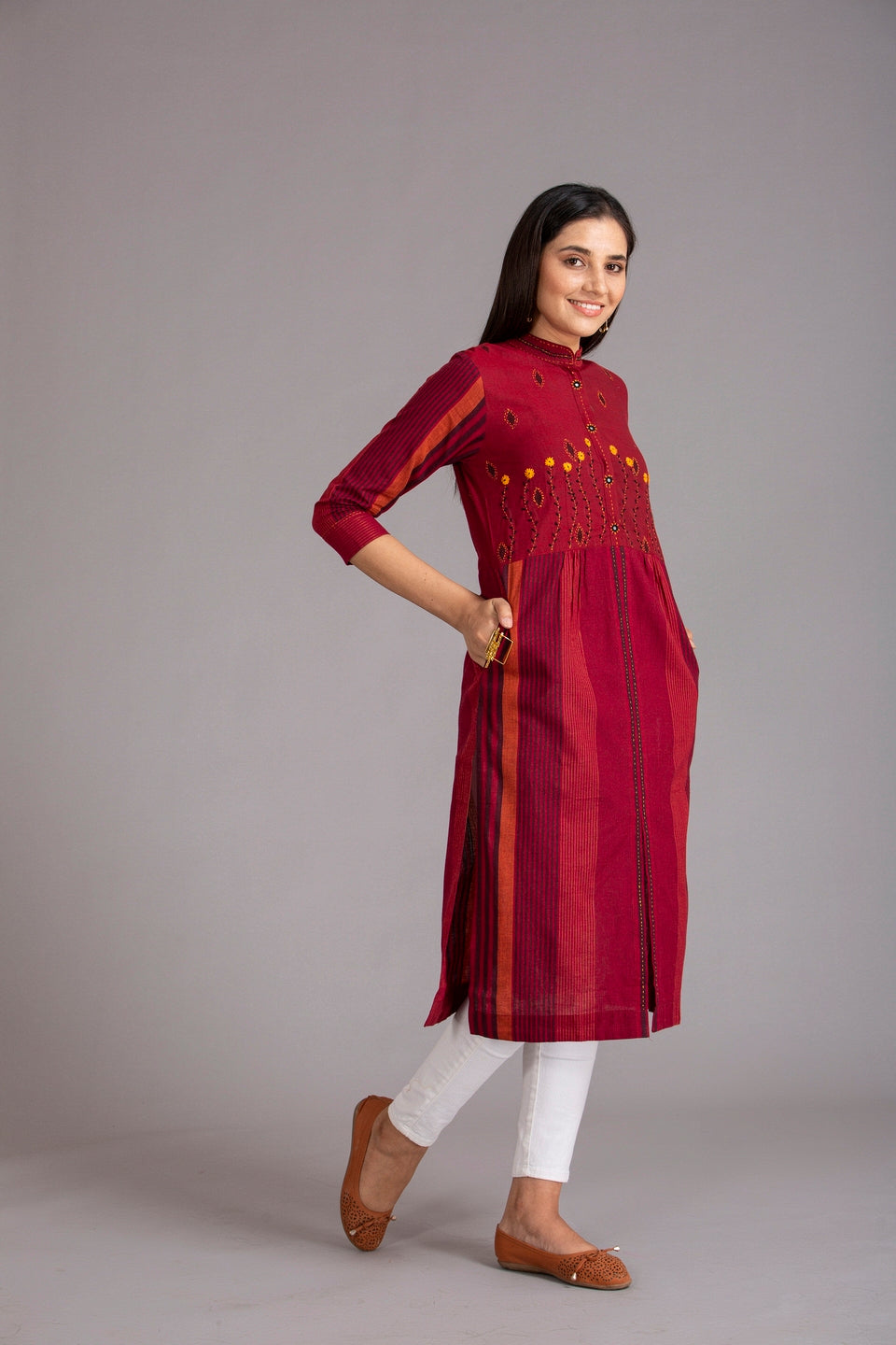 Ruma Devi Collection - Office wear Kurti