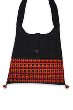 Load image into Gallery viewer, Handweaved Tote Bag, Red