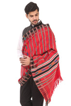 Load image into Gallery viewer, Hand Weaving Pattu/Shawl, Red