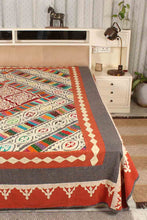 Load image into Gallery viewer, Patchwork Applique Bedcover/Gudari