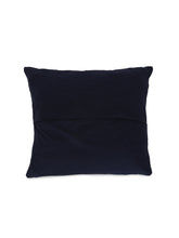 Load image into Gallery viewer, Applique, Handmade Cushion Cover, Gulchand Design, Black
