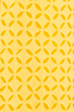 Load image into Gallery viewer, Applique, Handmade Kurta Fabric, Single Khuddi Design, Yellow