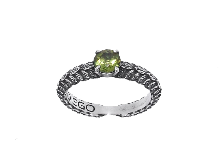 Anello Solitario Small - Peridot