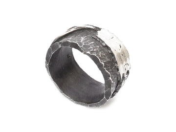 Anello Black Raw - Spinello