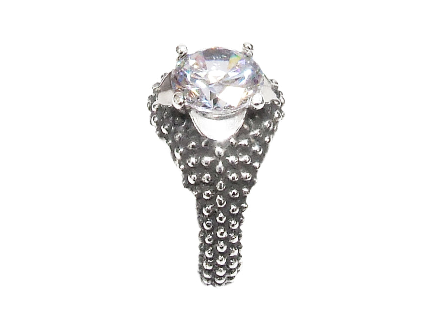 Digital Solitaire Ring